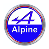 alpine car parts logo