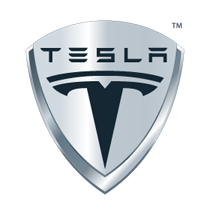 tesla car parts logo