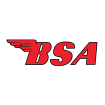 bsa motors bike parts logo