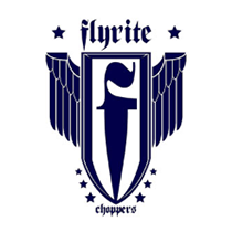 flyrite choppers bike parts logo