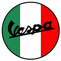 vespa bike parts logo
